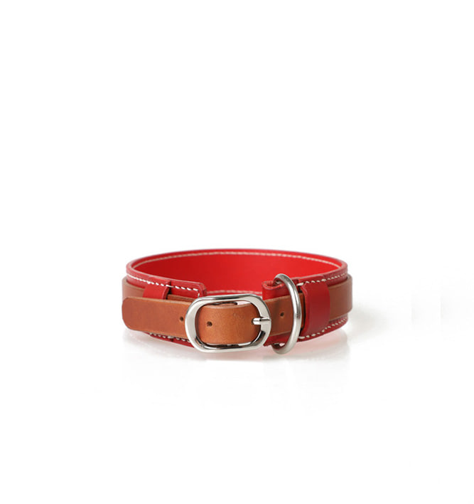 Signature Dog Collar REBR