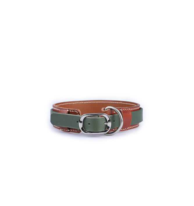 Signature Dog Collar BRGN